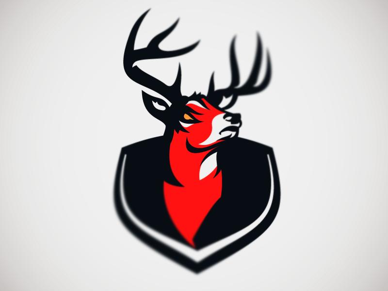 Deer Mascot Logo Deer Mascot Design Sports Logo Design