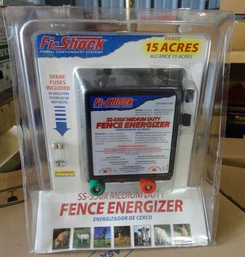 Nib Fi Shock Ss 550x Ac Powered Light Duty Electric Fence