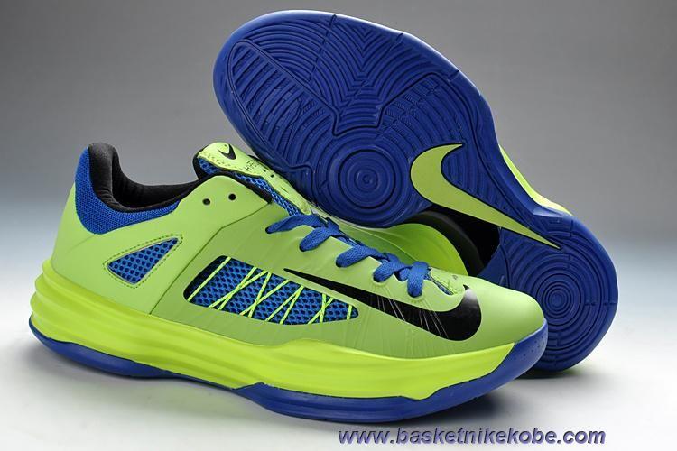 info for 3fc6b fabcd Pas Cher Hommes Nike Hyperdunk Low Poison Vert Hyper Bleu Noir New  554671-302