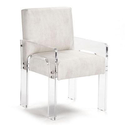 Ariston Acrylic Arm Chair Cosmo Chic Pinterest