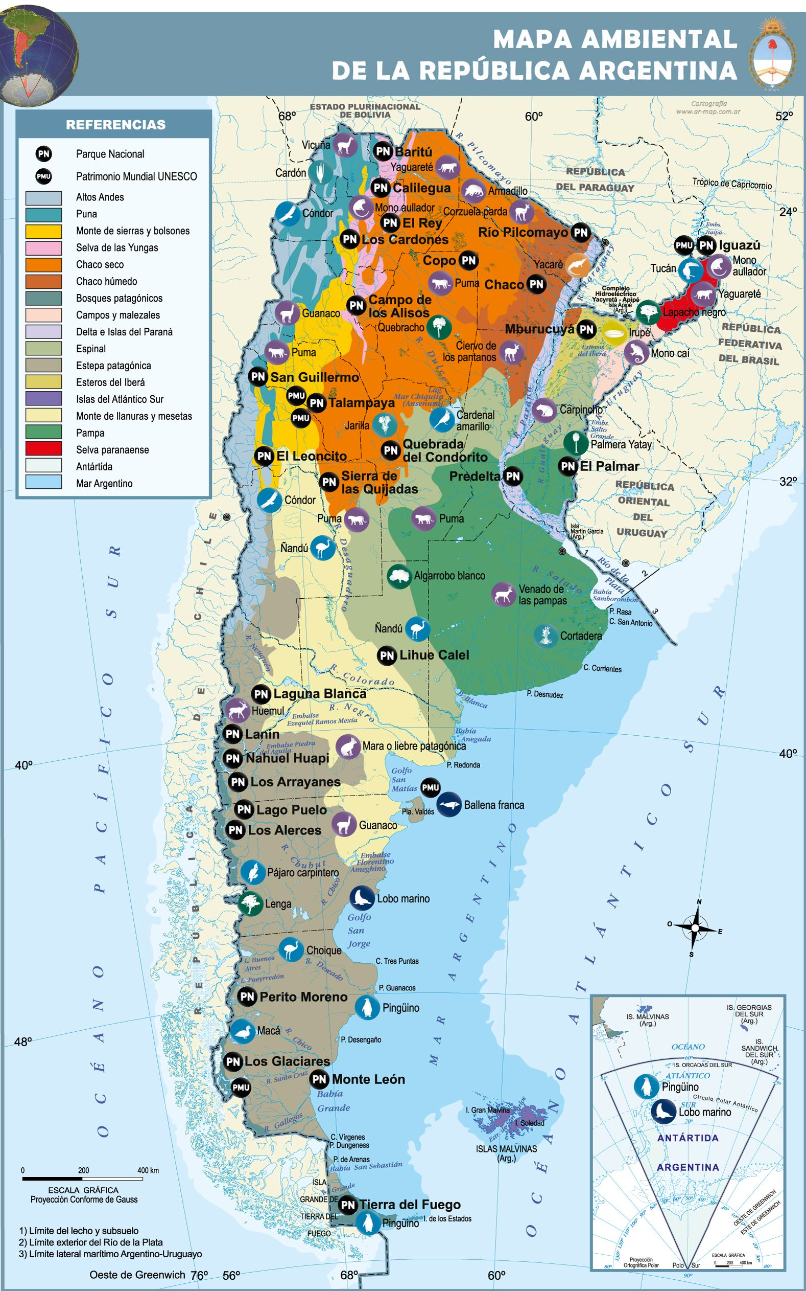Mapa de Argentina | Maria | Pinterest | mapa de Argentina, Mapas y ...