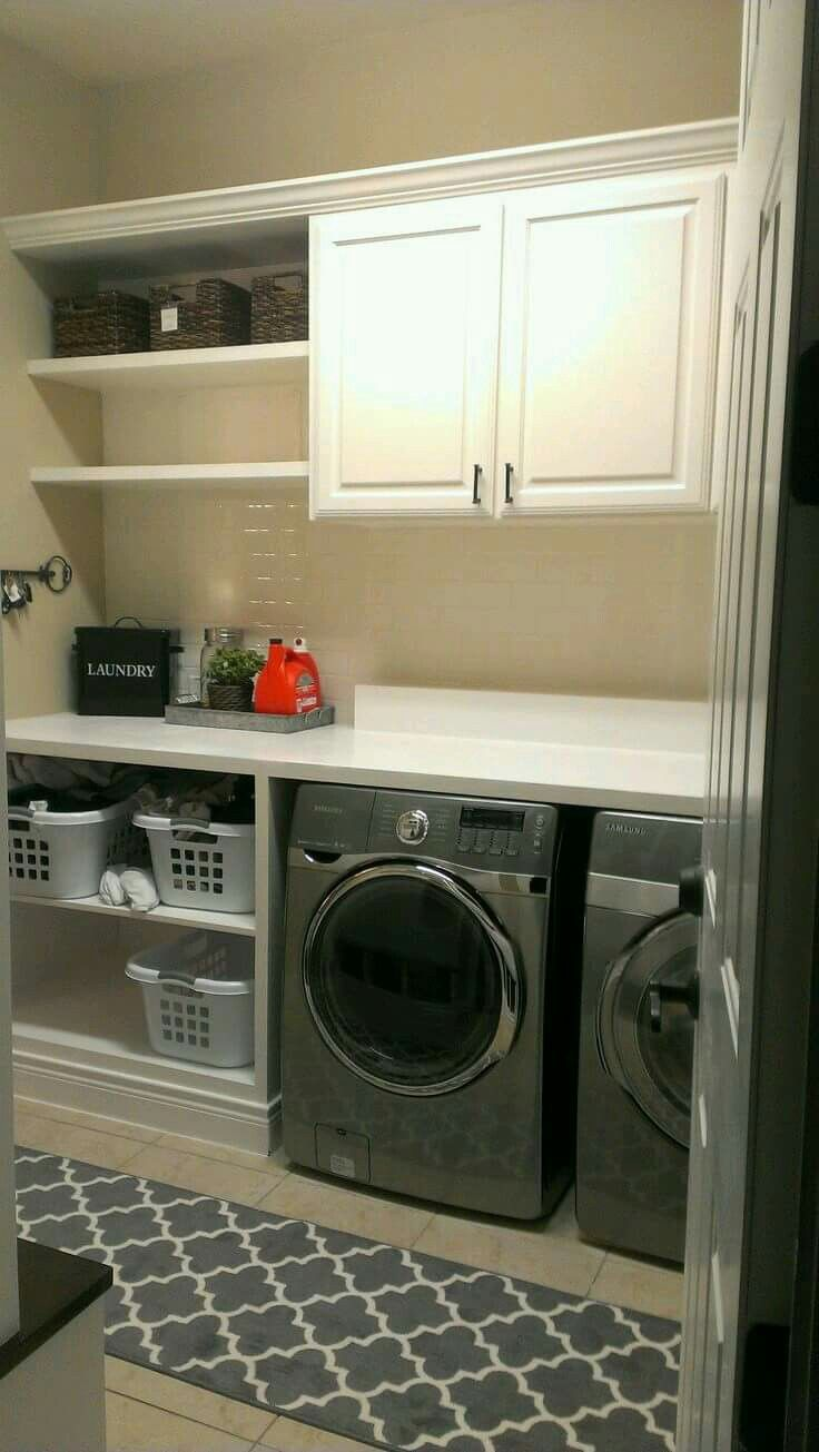 Pin By Kathleen S On Ideas Para El Hogar Laundry Room Storage