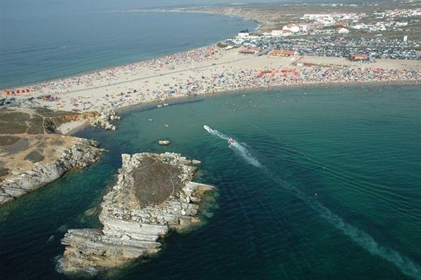 Baleal Beach Aerial View Peniche Portugal Portugal - Portugal map baleal