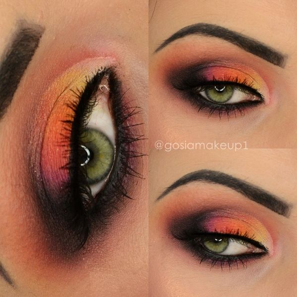 Lotd Tropical Makeup Get The Look With Gosiamakeup1 Lotd Eotd