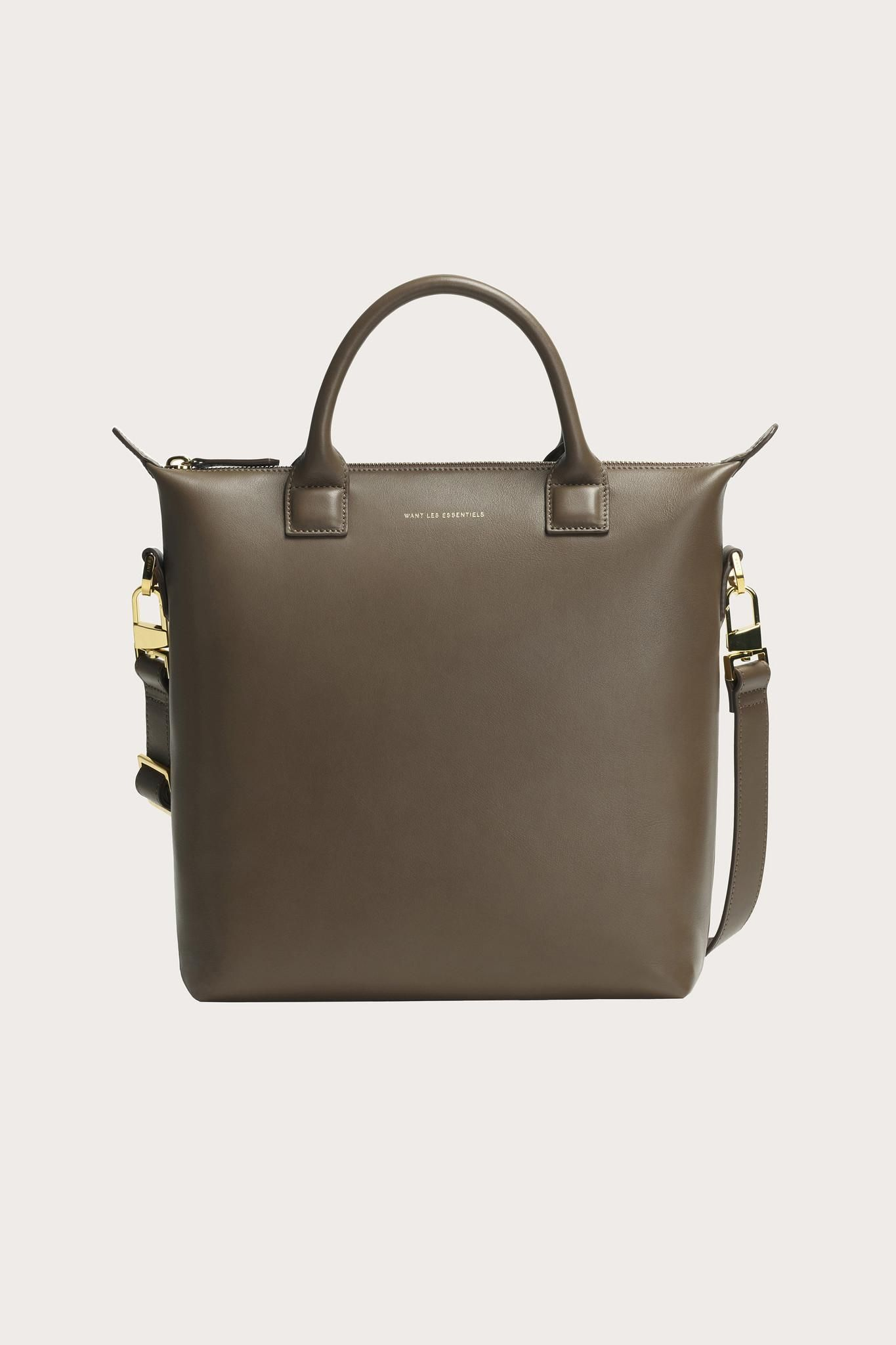 Mini O Hare Tote in Mocha by Want les Essentiels  1938d95f73459