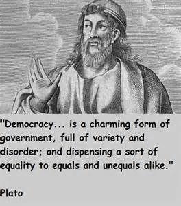 Plato On Democracy Plato Quotes Greek Philosophers Quotes Philosophical Quotes