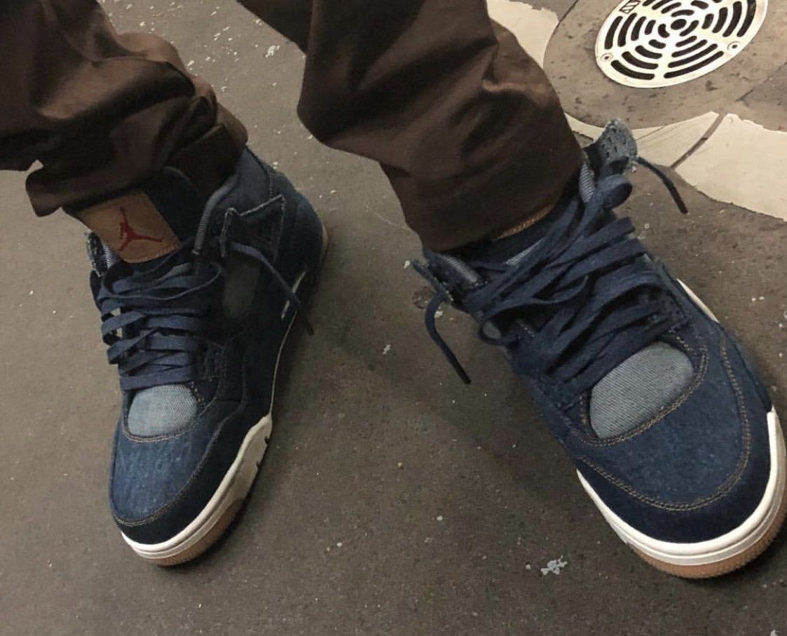 Rumored Release Date For The Levi's x Air Jordan 4 Denim • KicksOnFire.com