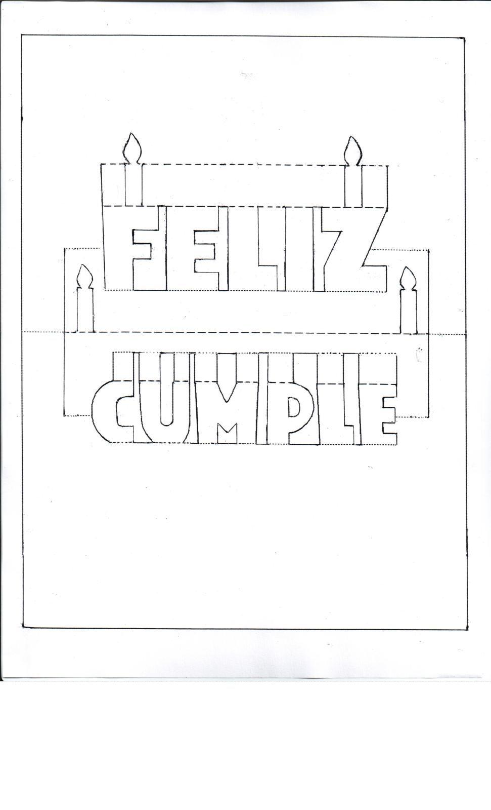 Resultado de imagen para moldes tarjetas de cumpleaños pop up para ...