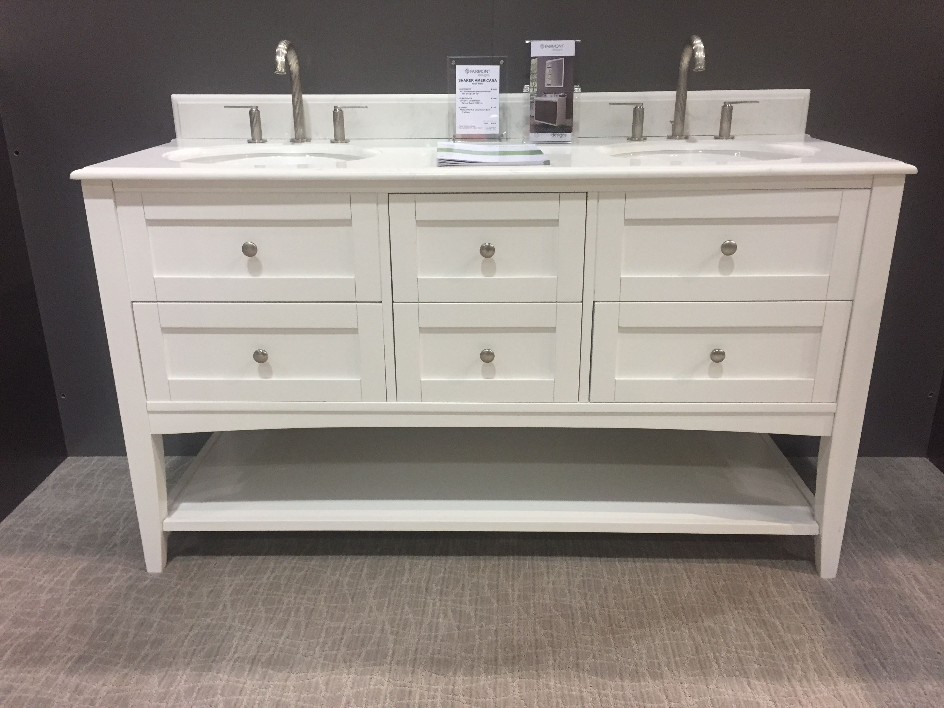 Pin by Fairmont Designs on White Bath Vanities | Bath ...