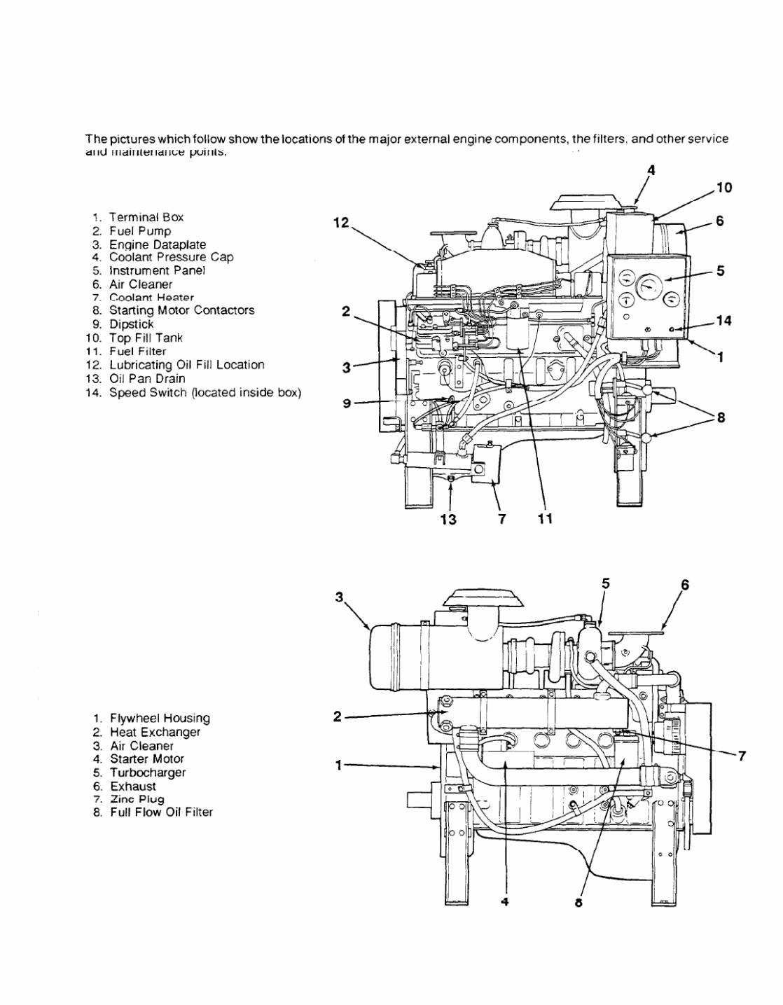 Sel Engine Parts Diagram And Function Di