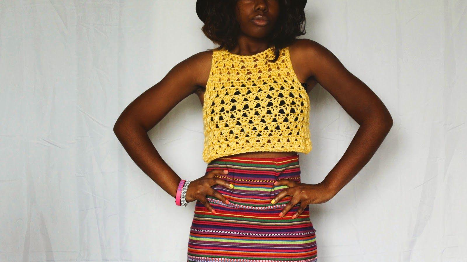 the dream crochet blog.: DIY: The Spring Dream Crochet Halter Free ...