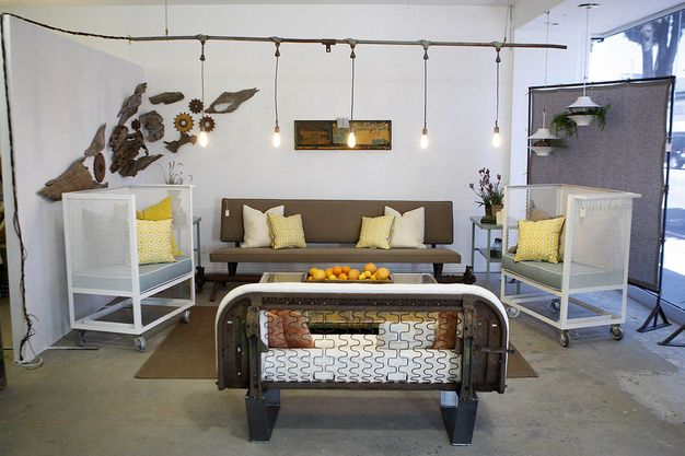 Tracy Hutson And Tanya McQueenu0027s Home Decor Pop Up Shop In Los Angeles As  Seen