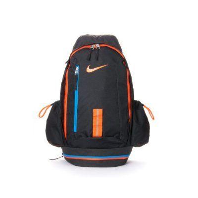Nike Male KD HOOPS Basketball Backpack Bookbag In Black-Orange (BA4715-089) 388836630035c