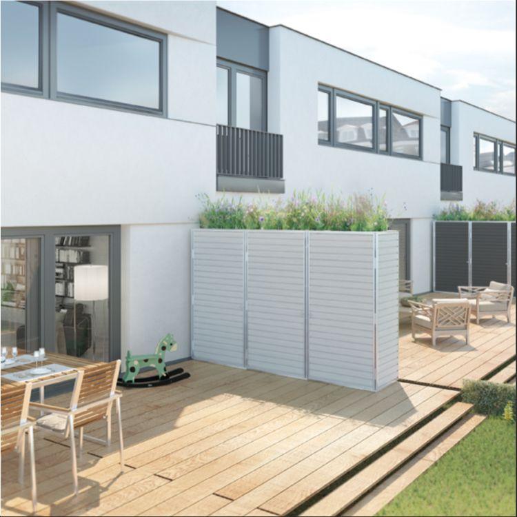 Trennwand Fur Garten Terrasse Oder Balkon Mull Pinterest