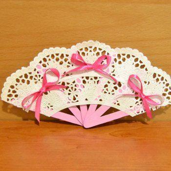 Abanico con palos de helado manualidades infantiles manualidades craft and ideas para - Manualidades con papel craft ...