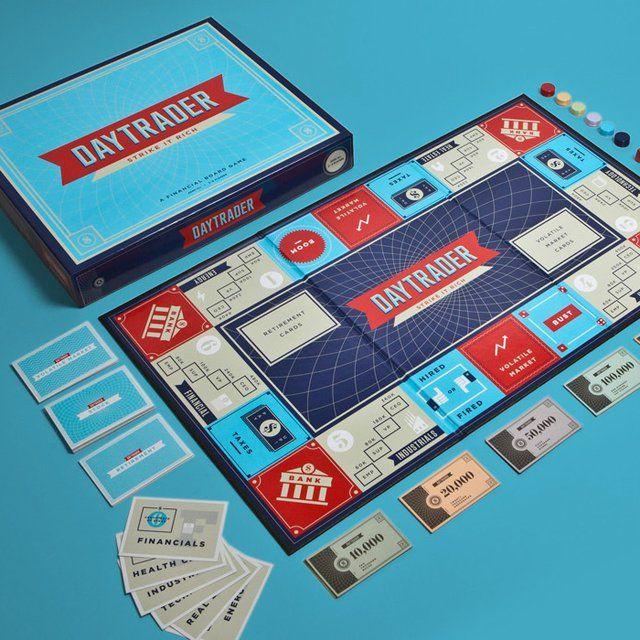 Daytrader Board Game