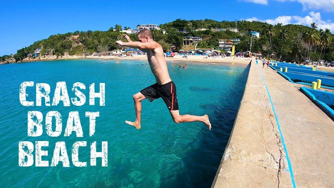 Crash boat beach Puerto Rico - YouTube
