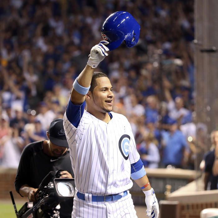 Sports Baseball · Willson Contreras Takes A Curtain Call ...