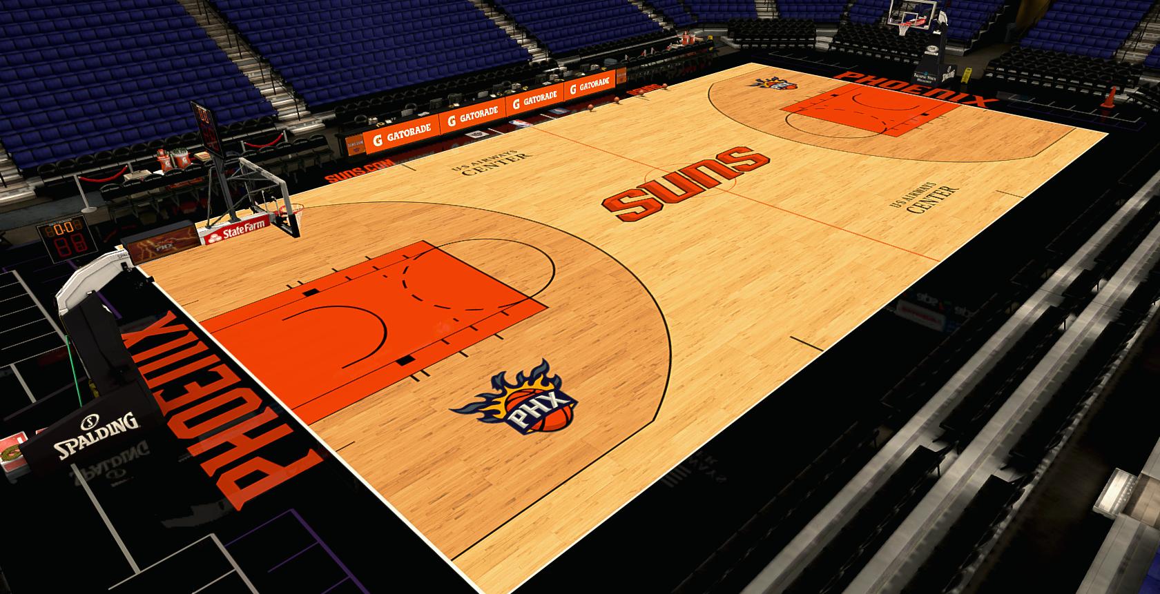 Phoenix Suns Professional Basketball