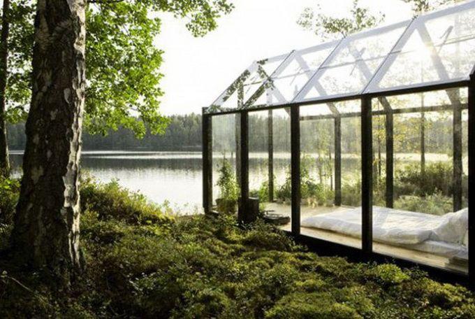 Very Beautiful Garden Glass House | Architecture | Pinterest | Glass ...