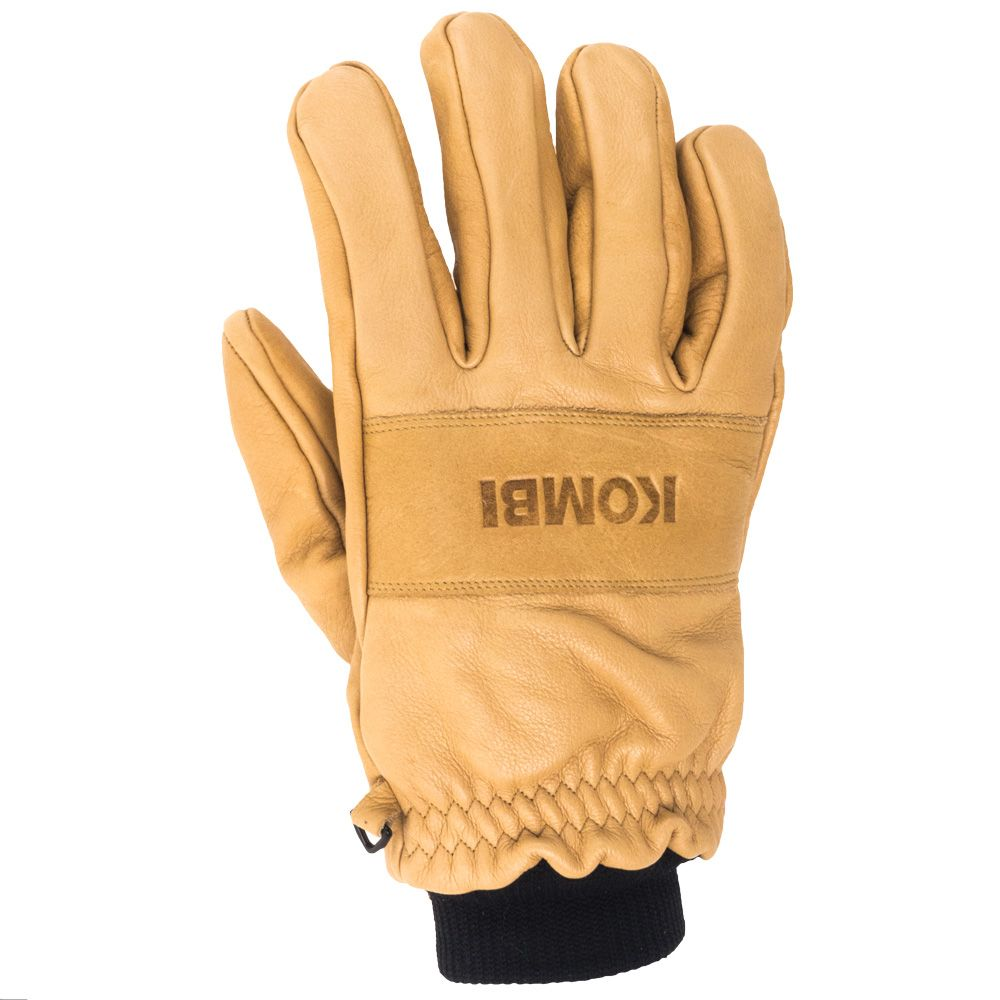 Mens leather insulated gloves - Kombi Gloves Men S 1 9030 Whe Transient Leather Insulated Wheat Work G