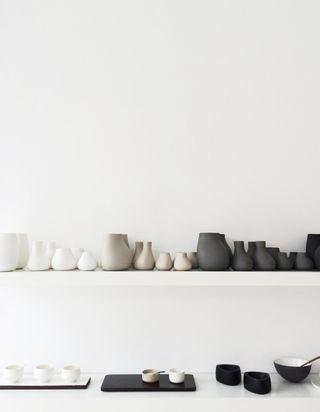 Minimalist Danish ceramics from Keramik og Glasværkstedet.