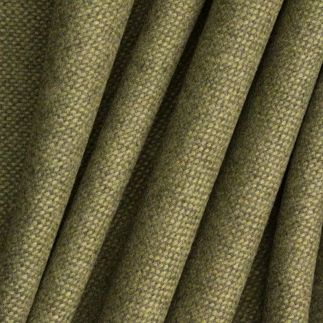 Green Wool/Cashmere Tweed