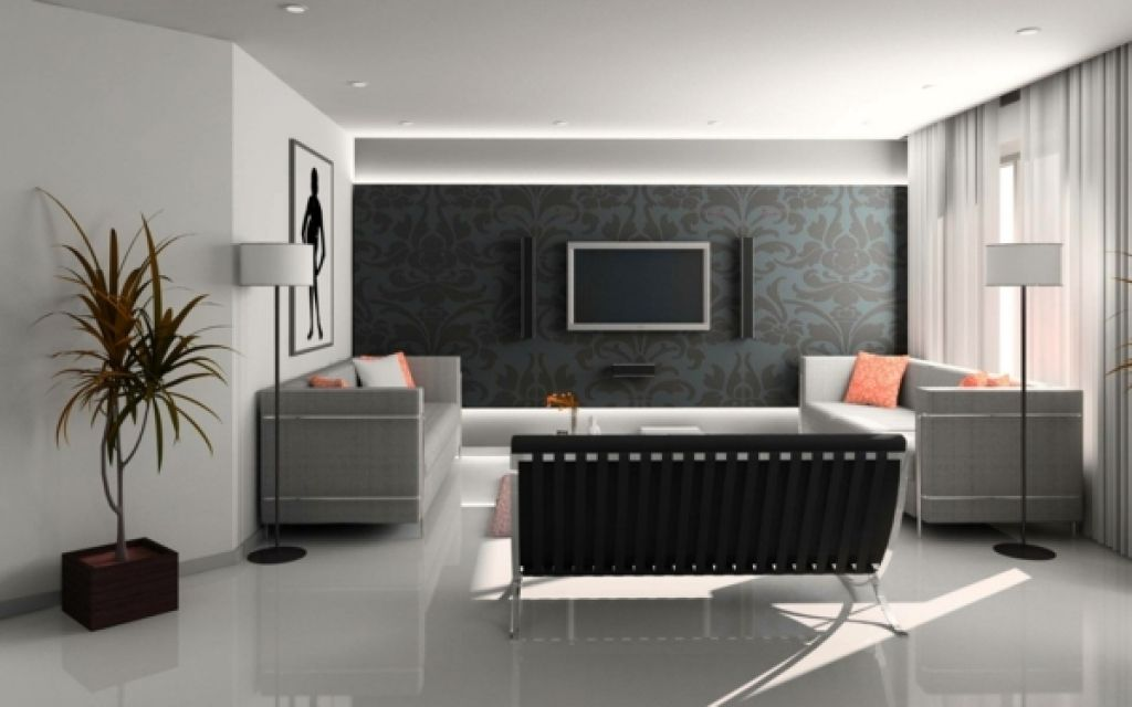 moderne wohnzimmer tapeten einrichtungsideen frs wohnzimmer - wohnzimmer design tapeten