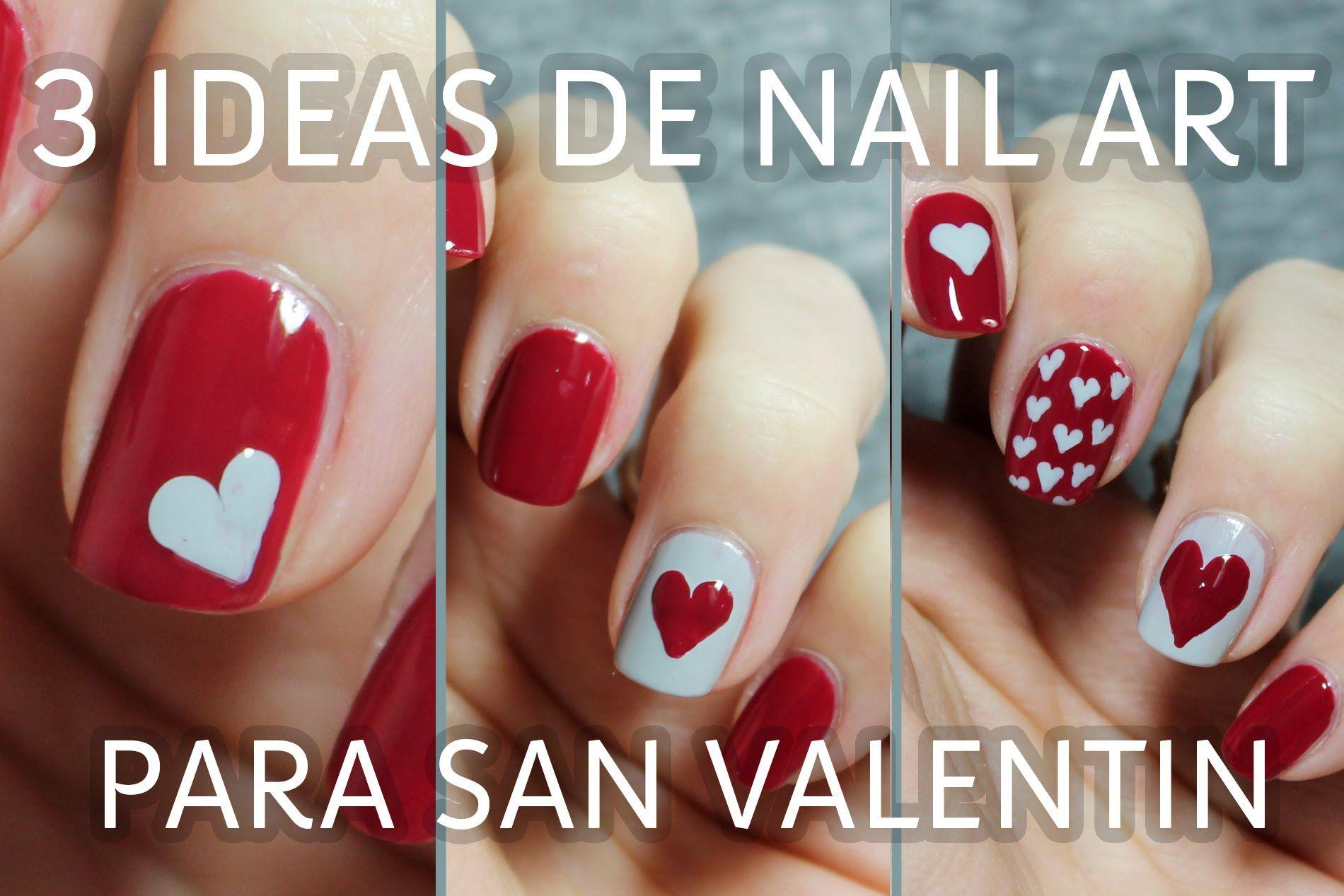 3 ideas para decorar tus uñas de San Valentín en menos de 5 minutos ...
