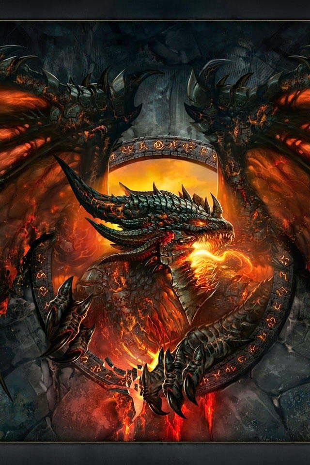 Fire Breathing Awesome Dragon