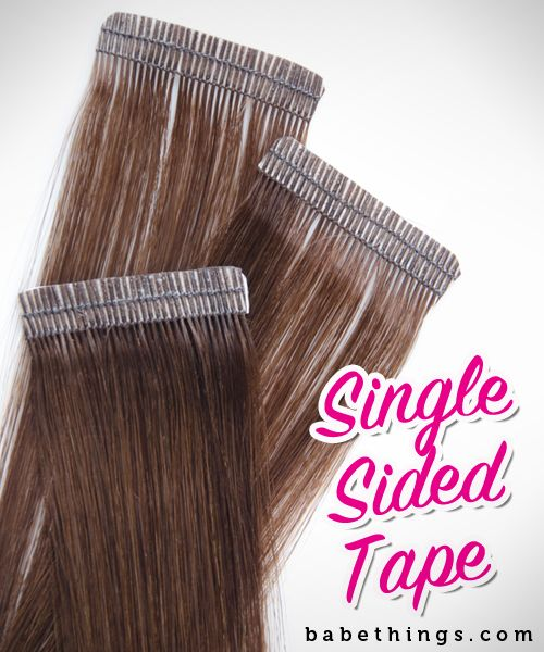 Single Sided Tape Hair Extension Tips Hair Tape Hair
