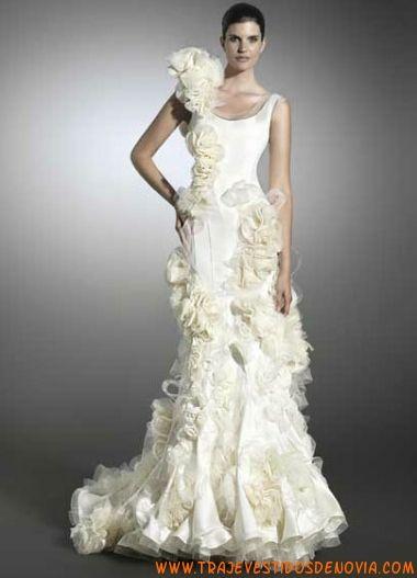 flauta victorio & lucchino vestido de novia raimon bund | vestidos
