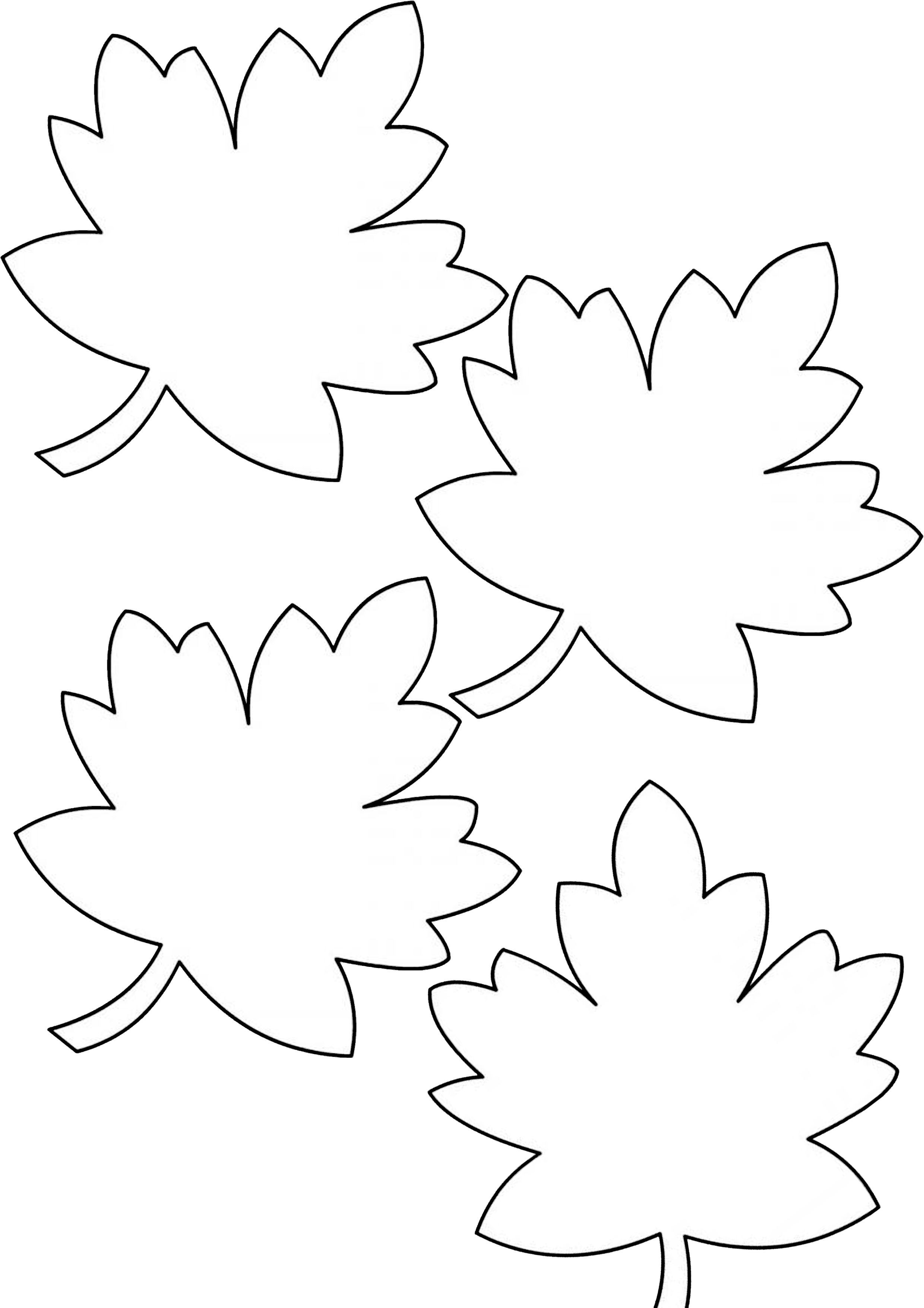 Pictures Of Autumn Leaves To Print