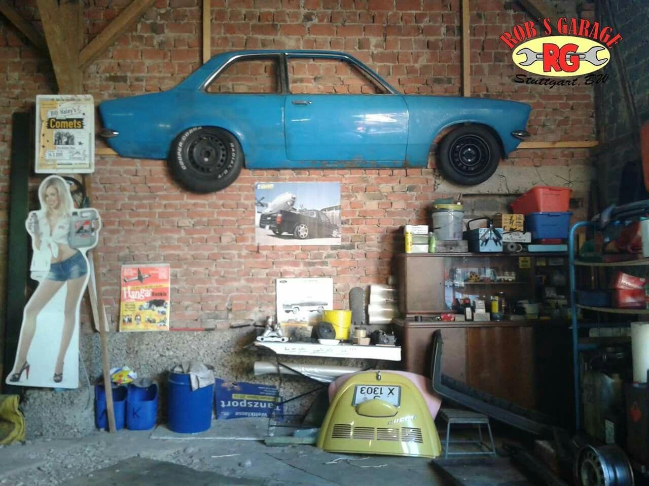 Lkw Garage Dekoration : Garage kadett käfer schrauber oldtimer oldschool rockabilly hot