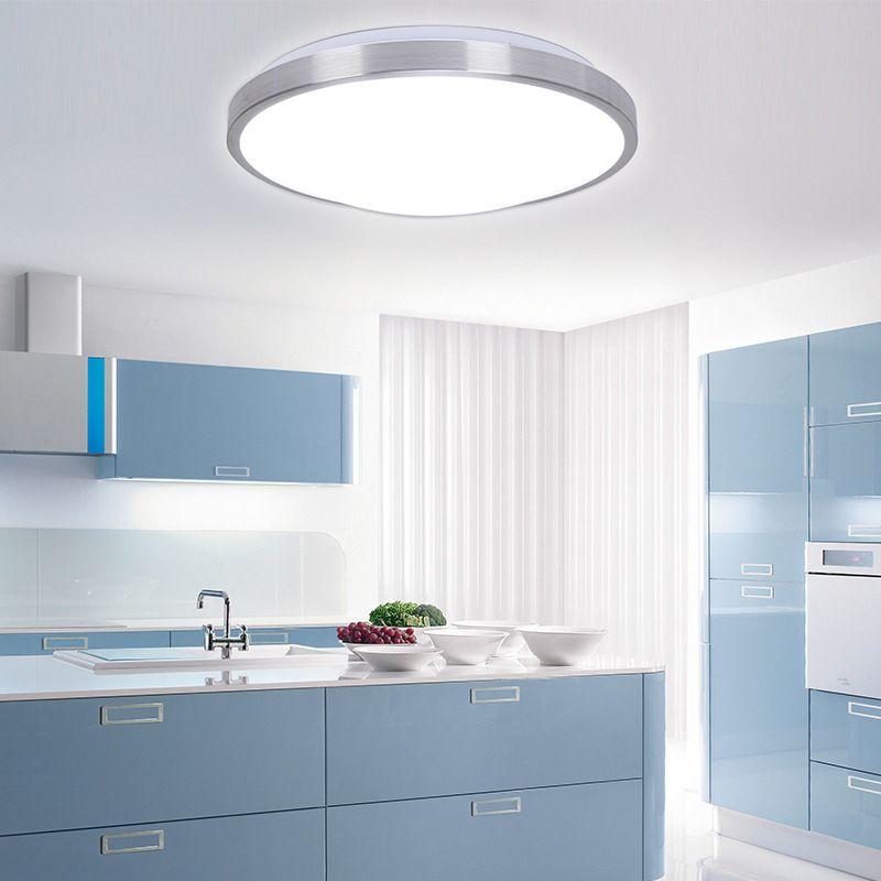 Cheap 2015 Modern Acryl frontera de plata LED accesorios de ...