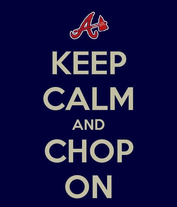 Atlanta Braves Baseball Fear The Chop Atlanta Braves Baseball Atlanta Braves Braves Baseball