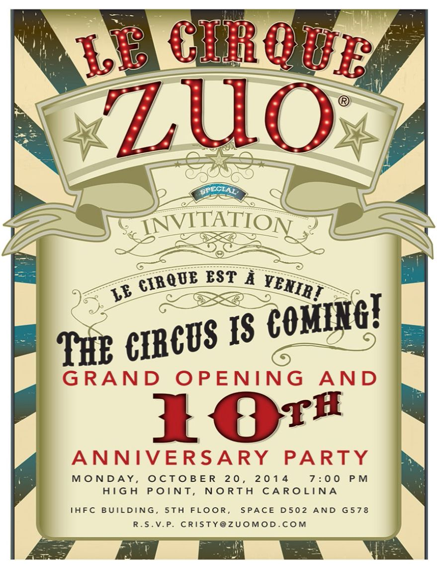 Zuo 10 year anniversary party