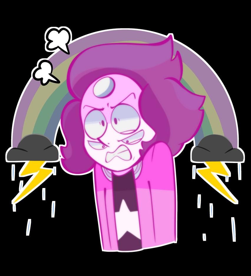 Rainbow Quartz 2.0 - Angry Boi (Pink Version) by LaviTavi on DeviantArt