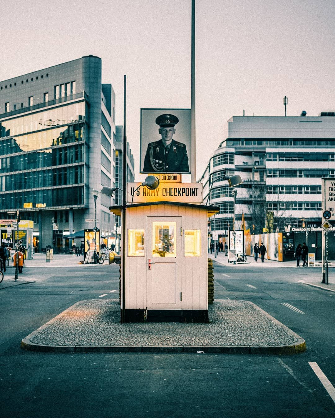 Checkpoint Charlie A Crossing Point Between East Berlin And West Berlin During The Cold War It Was Given Its Name By The We East Berlin West Berlin Cold War