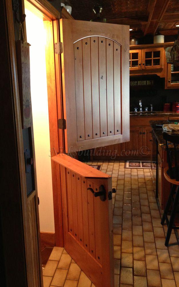 Dutch Door With Shelf For Kennel Room
