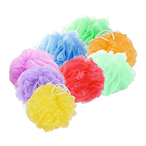 Look At This Mesh Pouf Bath Sponge With Loop Loofahs Pinterest Stunning Mini Loofah Poufs