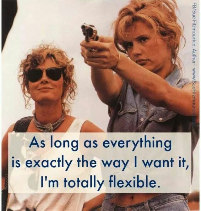Thelma and Louise | Funny Stuff | Thelma louise, I laughed ...
