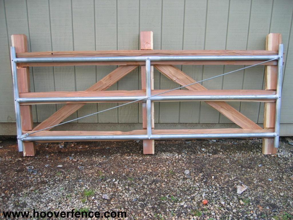 Hoover Fence Wood Split Rail Gates Western Red Cedar W