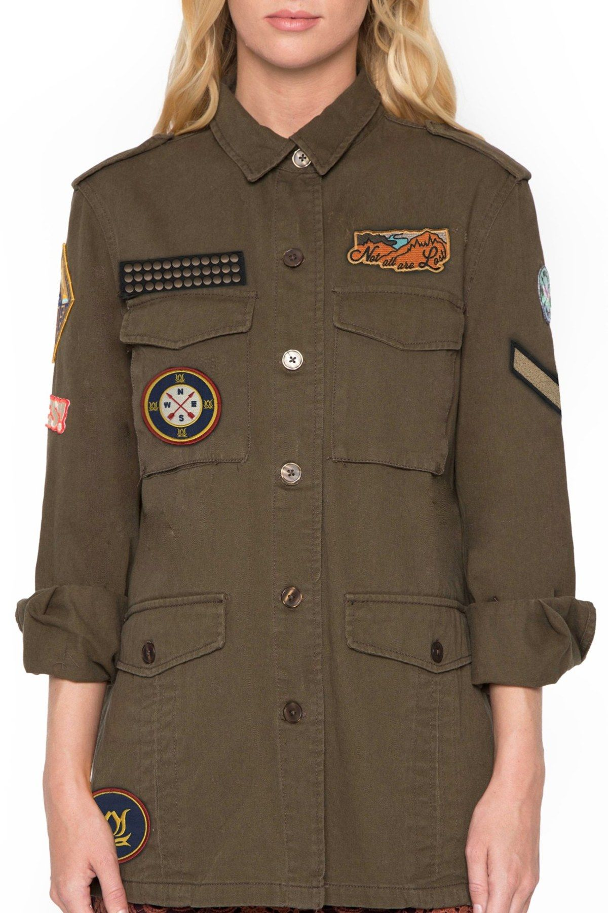 Army Patch Jacket | Patches jacket, Willow & clay, Jackets
