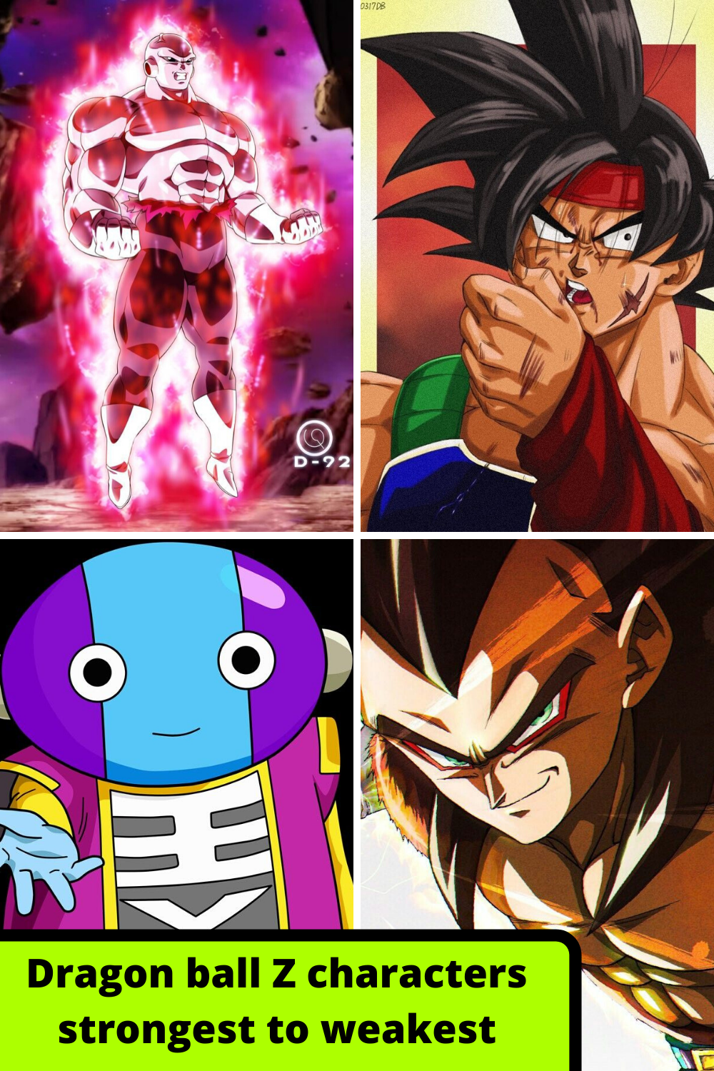 Dragon Ball Z characters strongest to weakest in 2020