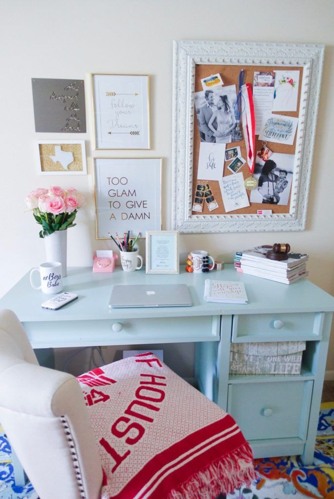 Office Wall Decor, Apartment Desk, Home Office Furniture
