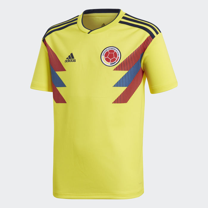 Colombia Home Jersey Yellow Soccer Jersey Youth Soccer Soccer