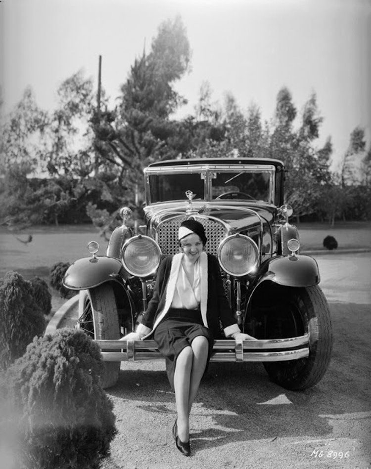 Classic Stars and Luxury Cars: 30 Interesting Vintage Photos of Celebrities Posi…