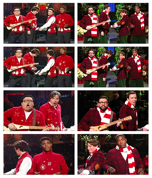 The SNL Christmas Song...STILL have this song in my head ...