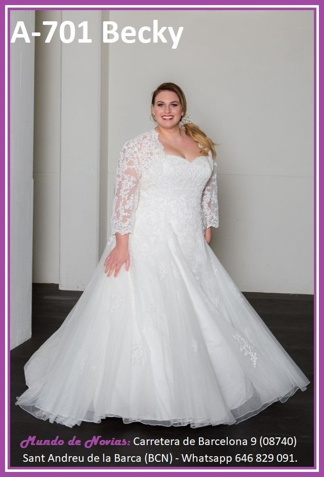 Pin En Plus Size Wedding Dress